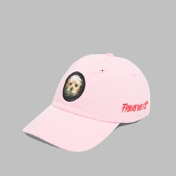 THE HUNDREDS X FRIDAY THE 13TH JASON CAP PINK