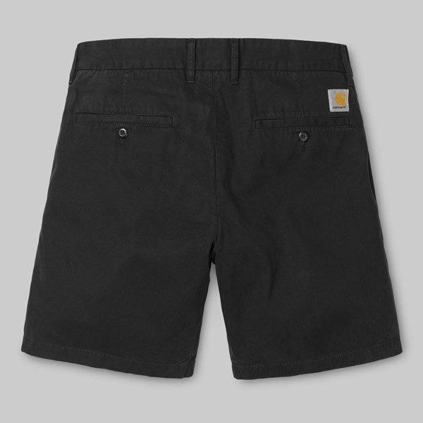 CARHARTT JOHN SHORT BLACK