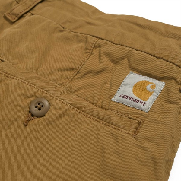 CARHARTT JOHN SHORT HAMILTON BROWN