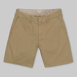 CARHARTT JOHN SHORT LEATHER RINSED
