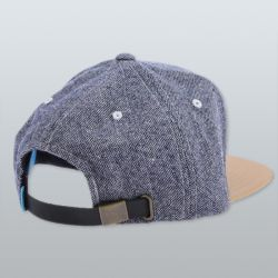 King Apparel Warriors Starter Kids Cap Blue Tweed