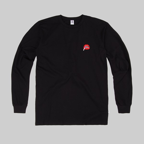 POST DETAILS KITSCH TWO LONG SLEEVE TEE BLACK