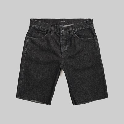 BRIXTON LABOR 5 POCKET DENIM SHORT BLACK