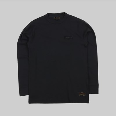 LEVI'S SKATEBOARDING GRAPHIC LS T-SHIRT BLACK