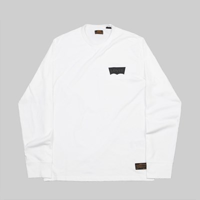 LEVI'S SKATEBOARDING GRAPHIC LS T-SHIRT WHITE