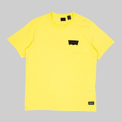 LEVI'S SKATE GRAPHIC SS T-SHIRT LIMELIGHT YELLOW