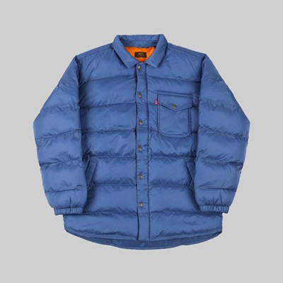 LEVI'S SKATEBOARDING DOWN JACKET MASON DUTCH BLUE