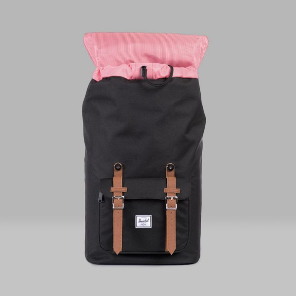 HERSCHEL LITTLE AMERICA BACKPACK BLACK TAN