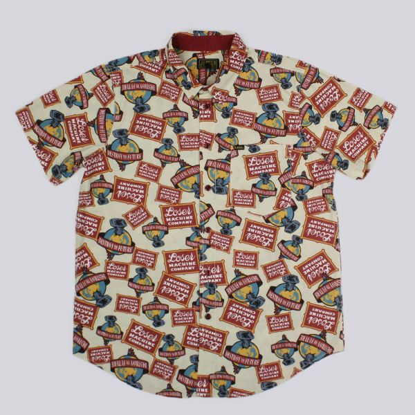 Loser Machine Malt Short Sleeve Shirt Bone