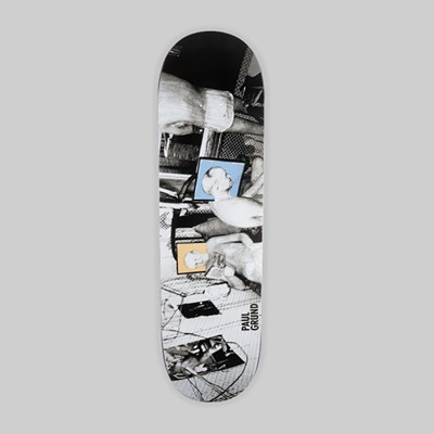 POLAR SKATE CO. PAUL GRUND 'MAN CAVE' DECK P4 SHAPE