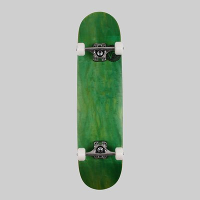 MINI LOGO SKATEBOARDS COMPLETE DYED GREEN 7.75""