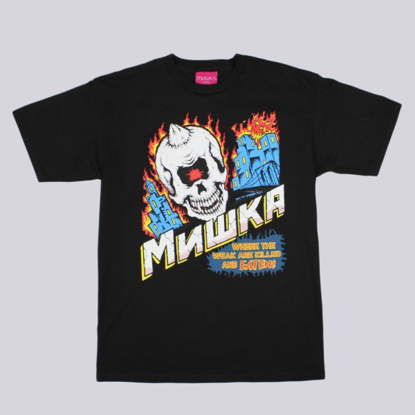 Mishka City On Fire T Shirt Black