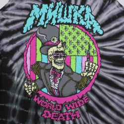 Mishka Cyco Pusher Tie Dye Tank Top Black