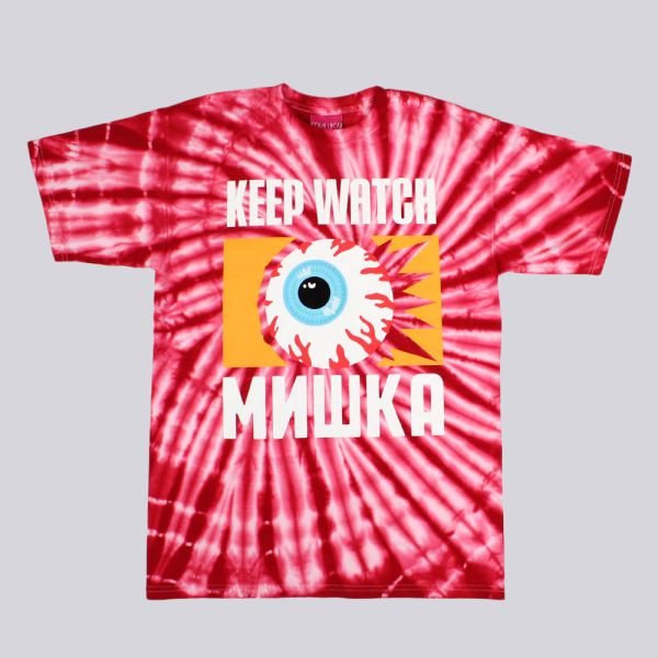 Mishka From The Ashes Tie Dye T Shirt Red