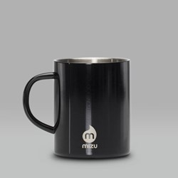 MIZU INSULATED STAINLESS STEEL CAMP CUP 14OZ BLACK