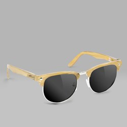 GLASSY MASON POLARIZED SUNGLASSES CHAMPAGNE