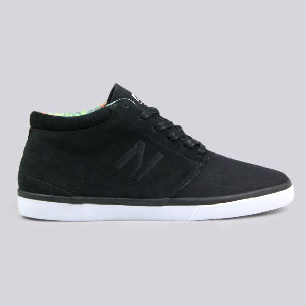 a4b749882373b New Balance Numeric Brighton High 354 Skate Trainers Black White ...