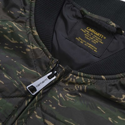 CARHARTT NEWTON VEST LINER CAMO TIGER JUNGLE