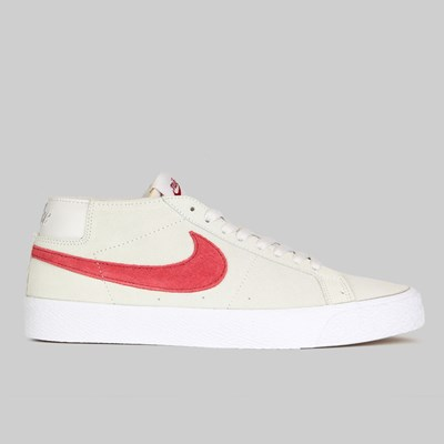 NIKE SB ZOOM BLAZER CHUKKA VAST GREY TEAM CRIMSON
