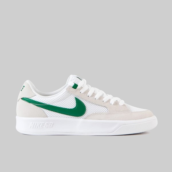 NIKE SB ADVERSARY WHITE PINE GREEN WHITE