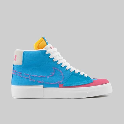 NIKE SB BLAZER MID 'HACK PACK' LASER BLUE WATERMELON