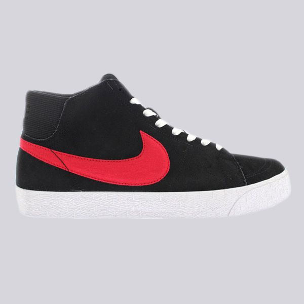 587eda650f90 Nike SB Blazer Mid LR Trainers Black University Red White