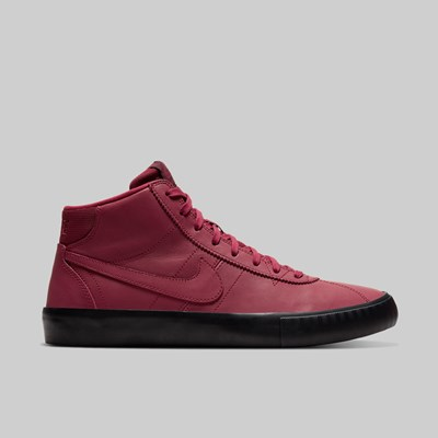 NIKE SB ORANGE LABEL BRUIN HI TEAM RED NIGHT MAROON
