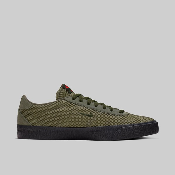 NIKE SB BRUIN ISHOD 'ORANGE LABEL' SEQUOIA MEDIUM OLIVE