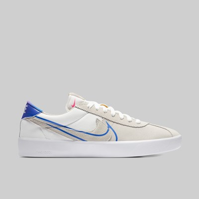 NIKE SB BRUIN REACT T SUMMIT WHITE RACER BLUE PINK BLAST