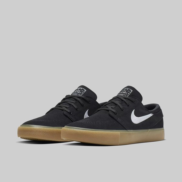 NIKE SB CHRON SLR BLACK WHITE GUM LIGHT BROWN