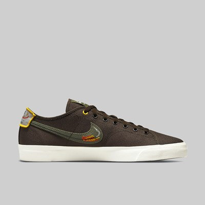 NIKE SB BLZR COURT X DAAN BAROQUE BROWN MEDIUM OLIVE