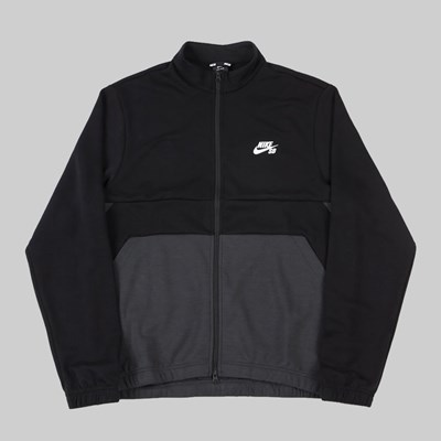 NIKE SB DRY JACKET TRACK BLACK ANTHRACITE WHITE