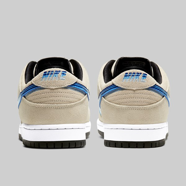 NIKE SB DUNK LOW PRO 'TRUCKIT' LIGHT CREAM DEEP ROYAL