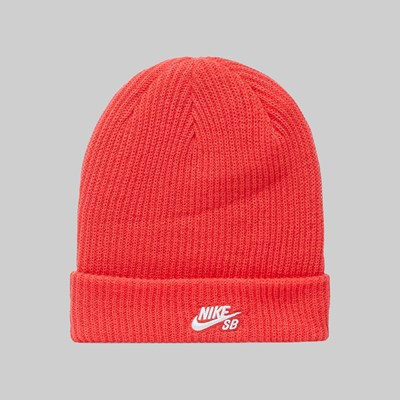 NIKE SB FISHERMAN BEANIE LT FUSION RED
