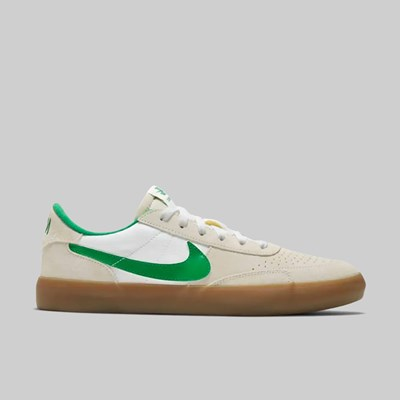 NIKE SB HERIATGE VULC SUMMIT WHITE LUCKY GREEN