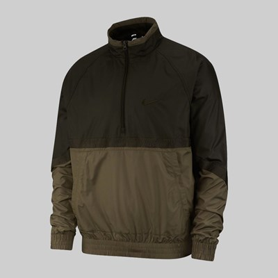 NIKE SB ISHOD JACKET 'ORANGE LABEL' SEQUOIA MED OLIVE