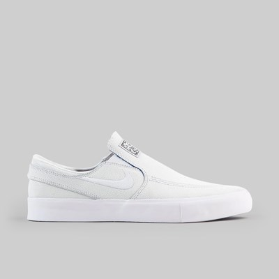 NIKE SB JANOSKI SLIP ON PRM 'PORCELAIN' WHITE GAME ROYAL