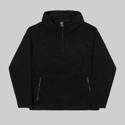 NIKE SB POLAR FLEECE HOODIE BLACK