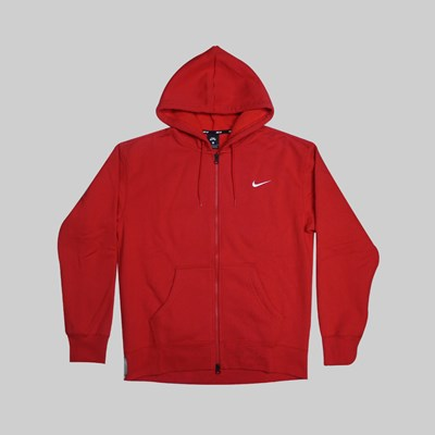 NIKE SB ORANGE LABEL HOODIE UNIVERSITY RED SAIL