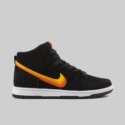 NIKE SB DUNK HIGH PRO 'TRUCKIT' BLACK UNIVERSITY GOLD