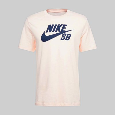 NIKE SB DFC LOGO SS T-SHIRT WASHED CORAL OBSIDIAN