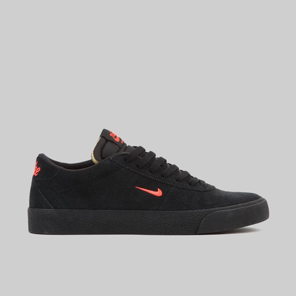 NIKE SB ZOOM BRUIN BLACK BRIGHT CRIMSON BLACK