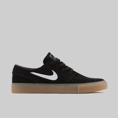 NIKE SB ZOOM JANOSKI RM BLACK WHITE GUM LT BROWN