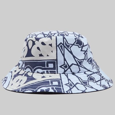 OBEY BANDANA BUCKET HAT NAVY