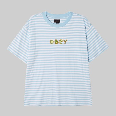 OBEY BUGGS SS T-SHIRT SKY BLUE MULTI