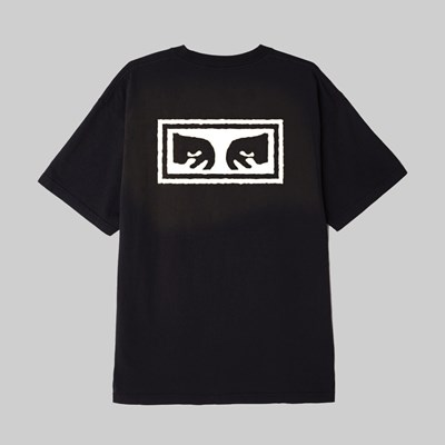 OBEY EYES 3 SS T-SHIRT OFF BLACK