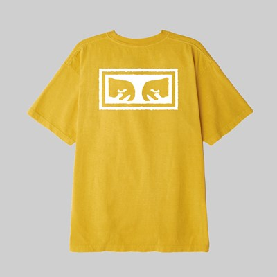 OBEY EYES 3 SS T-SHIRT GOLD