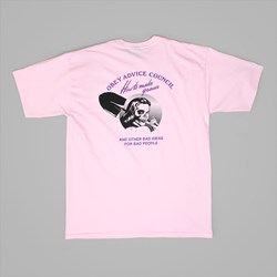 OBEY HOW TO MAKE GRAVES TEE PINK