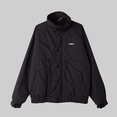 OBEY LAYERS JACKET BLACK