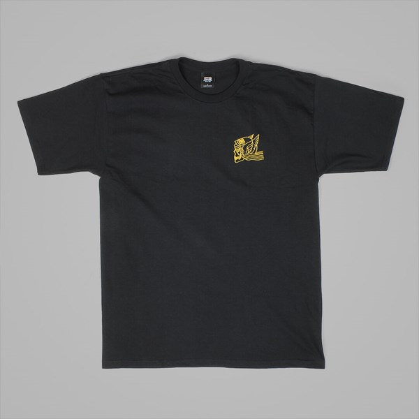 OBEY MIDNIGHT ANGELS TEE BLACK